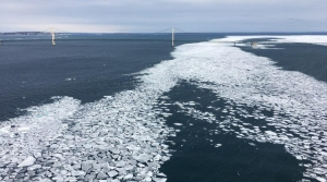 Read full article: Coast Guard Investigating Vessel Activity In ATC Spill Underneath Straits Of Mackinac