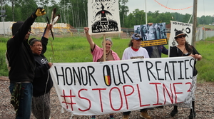 Read full article: Enbridge Pipeline Opponents Vow To Stop Line 3 Replacement At Wisconsin-Minnesota Border