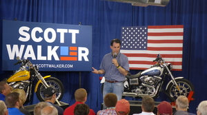 Read full article: Trump's Attacks On Harley-Davidson Put Walker In Awkward Spot