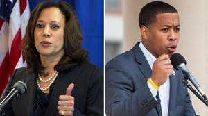 Read full article: Prominent Dem Kamala Harris Endorses Mahlon Mitchell In Governor Bid