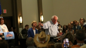 Read full article: Bernie Sanders, Tammy Baldwin Rally Supporters In Eau Claire