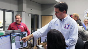 Read full article: Walker Tours Dane County Flood Damage After Declaring State Of Emergency
