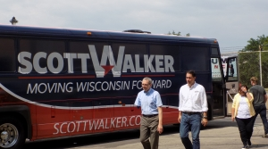 Read full article: Walker Launches 5-Day Bus Tour Across Wisconsin Ahead Of Primary