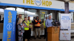 Read full article: Milwaukee's New Streetcar, Dubbed 'The Hop,' Set To Launch In November