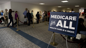 Read full article: Medicare For All Gains Momentum As Major Democratic Election Issue