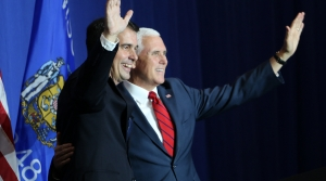Read full article: Vice President Mike Pence Campaigning For Gov. Scott Walker In Hudson