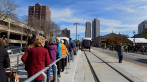 Read full article: After Years Of Waiting, People Line Up To Ride Milwaukee's New Streetcar