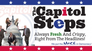 Capitol Steps logo graphic
