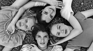 (clockwise from top) Deena Martin, Parker Posey, Marissa Ribisi, and Chrisse Harnos