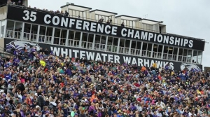 UW-Whitewater Stands and Crowd