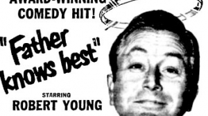 Robert Young in Father Knows Best