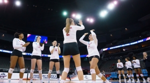 Read full article: No. 4 Texas Knocks Out No. 1 Wisconsin In Women's Volleyball Final Four