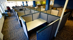 cubicles, workforce, office