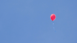 balloon, sky, loneliness, loss