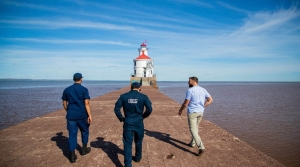 Read full article: 56 Feet Above Lake Superior, Lighthouse Buyer Finds Beauty In Life On The Edge