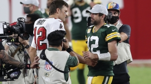 Read full article: Rodgers, Brady Set For First Playoff Meeting In Sunday's NFC Title Game