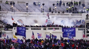 Violent protesters, loyal to President Donald Trump, storm the Capitol