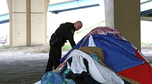 Read full article: Homeless Camp In Downtown Milwaukee Growing