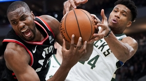 Read full article: Leonard Scores 36 As Raptors Beat Bucks, 118-112
