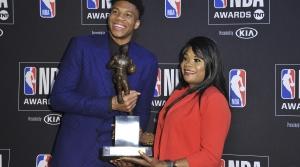 Read full article: Milwaukee Bucks' Giannis Antetokounmpo Named NBA MVP