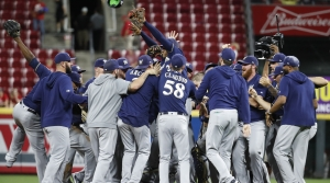 Read full article: Brewers Clinch Playoff Berth With 9-2 Win Over Reds