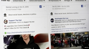Read full article: As Disinformation Online Grows, Wisconsin Group Hopes To Educate Voters Ahead Of 2020 Election