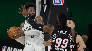 Read full article: Season Ends For Milwaukee Bucks With Antetokounmpo On The Bench
