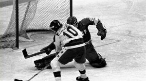 "Mark Johnson scored two goals in the ""Miracle on Ice"""