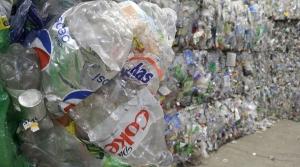 stacks of plastic bottles
