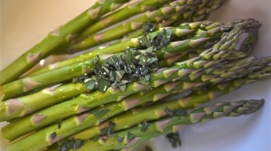 Read full article: Asparagus Garbanzo Bean Salad