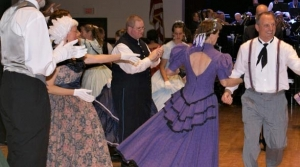 Dancers at 1st Brigade Band Harvest Ball