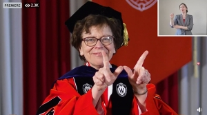 Read full article: UW-Madison Graduates Participate In First Virtual Commencement