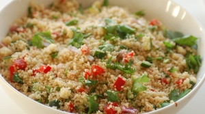 Read full article: Couscous & Cherry Salad