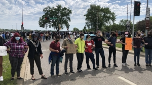 Read full article: George Floyd Protesters Block Traffic In Madison