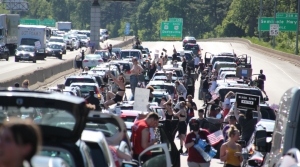 Read full article: George Floyd Protesters Block Beltline In Madison; Milwaukee Protesters March To Wauwatosa