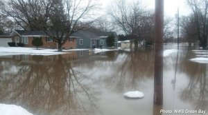 Green Bay flooding March 2019