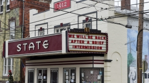 The State Theatre in Boyertown, Penn. photographed on Jan. 4, 2021. In April, the U.S. Small Business Administration had