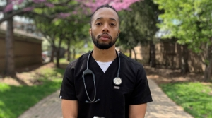 Jamel Hill, a fourth year medical student, confronted a stark reality when he went into medical school. But through the