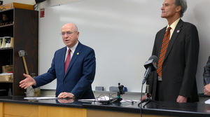 Read full article: UW President Says Budget Process Increasing Competition Between Schools