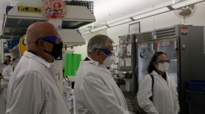 Read full article: CDC Director Tours UW-Madison COVID-19 Testing Lab