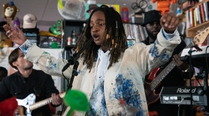 Koffee plays a Tiny Desk Concert