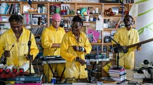 Read full article: Congo's KOKOKO! Makes Joyful Dance Music From Instruments Made Of Junk