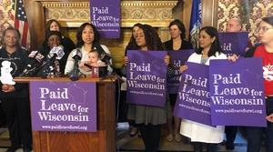 Read full article: Wisconsin Democrats Reintroduce Family Medical Leave Insurance Act