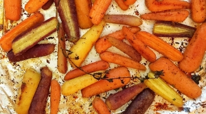 Read full article: Maple Roasted Carrots with Goat Cheese