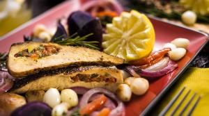 Read full article: Mediterranean Stuffed Chicken