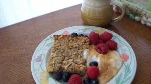 Read full article: Oatmeal, Apple, and Walnut Bake