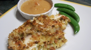 Read full article: Pistachio Breaded Tilapia with Apricot Dijon Sauce