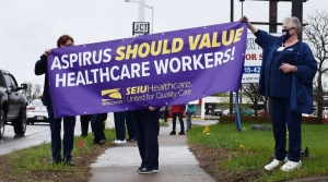 Read full article: Health Workers In Wisconsin Rapids Rally Ahead Of Contentious Contract Negotiations