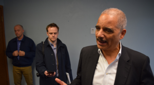 Read full article: Eric Holder Campaigns For Lisa Neubauer In Wisconsin Supreme Court Race
