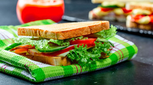Read full article: Spring Vegetable Sandwiches With Dill Sauce
